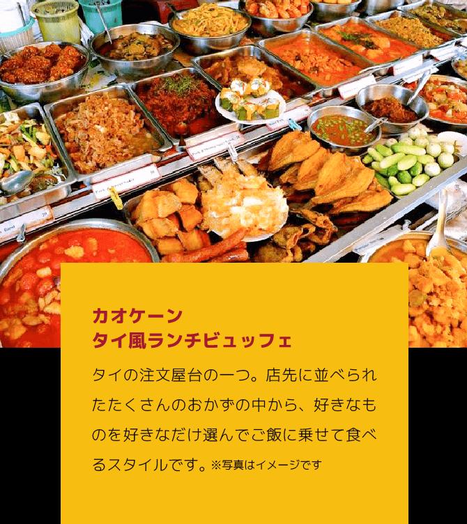 新橋店 カオケーン タイ風ランチビュッフェタイの注文やタイの一つ